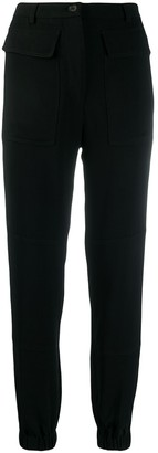 Rochas Patch Pocket Trousers
