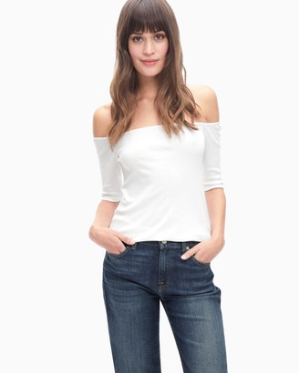 Splendid Rugby Off Shoulder Top