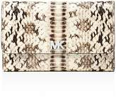 MICHAEL Michael Kors Medium Embossed Leather Carryall Wallet