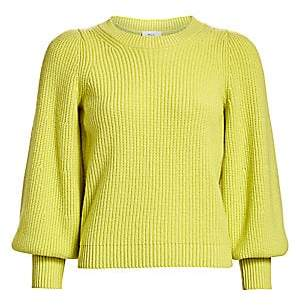 A.L.C. Women's Eliana Puff-Sleeve Wool & Cashmere-Blend Knit Sweater