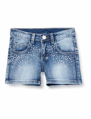 MEK Girl's Shorts Jeans Stretch Con APPL