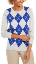 Charter Club Argyle Crewneck Sweater, Created for Macy's