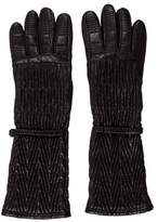 Prada Quilted Leather Gloves