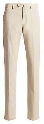 Loro Piana Men's Four-Pocket Khaki Pants