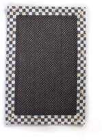 Mackenzie Childs MacKenzie-Childs Courtly Check Black Sisal Rug, 2' x 3'