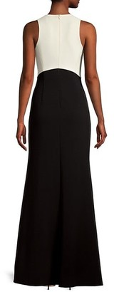 Sachin + Babi Cherish Two-Tone A-Line Gown
