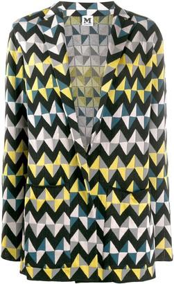 M Missoni Geometric Print Blazer