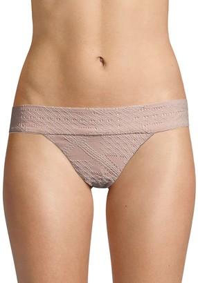Pq Textured Bikini Bottom