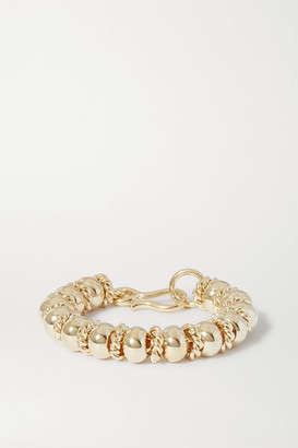 Laura Lombardi + Net Sustain Serena Gold-plated Bracelet - one size