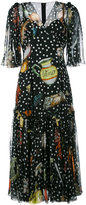 Dolce & Gabbana multi-print shift dress