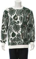 Givenchy Paisley Plane Print Sweatshirt