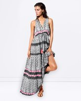 Seafolly Embroidered Print Maxi