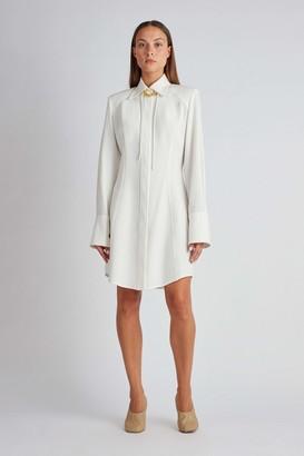 Camilla And Marc Banks Mini Shirt Dress