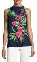 Tommy Bahama Floral-Print Sleeveless Top