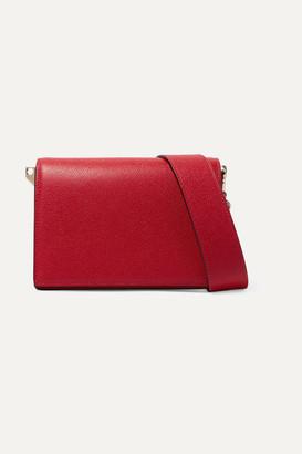 Valextra Swing Textured-leather Shoulder Bag