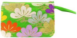 Friends That Rhyme Truffula Handmade Vintage Silk Wristlet
