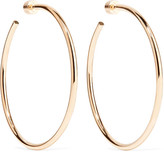 Jennifer Fisher Classic Round Gold-plated Hoop Earrings - one size