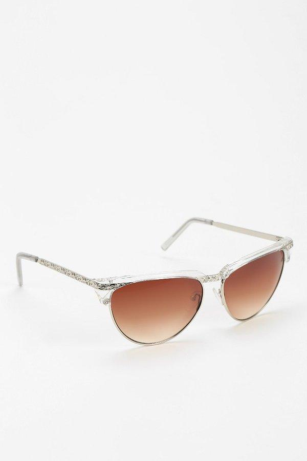 UO Floral Filigree Sunglasses