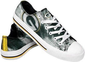 Women's Green Bay Packers Tie-Dye Canvas Shoe