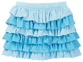 Toobydoo Sky Blue Ruffle Skirt (Toddler, Little Girls, & Big Girls)