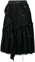 Versace ruched drawstring skirt - women - Silk/Polyamide/Polyester/Viscose - 40
