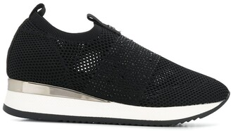 Carvela Janeiro crystal-embellished low-top sneakers