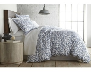 SouthShore Fine Linens Forevermore Luxury Cotton Sateen Duvet Cover and Sham Set, King Bedding