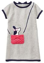 Gymboree Pup In Purse Knit Dress