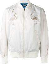 Diesel Flamingo bomber jacket - men - Polyester/Cotton - S