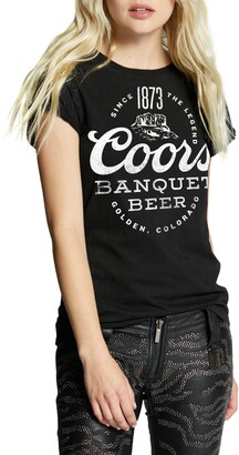 Recycled Karma Coors 1873 Roll-Up Sleeve Graphic Tee