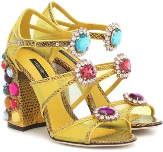 Dolce & Gabbana Keira embellished sandals