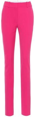 Victoria Beckham Mid-rise wool-blend skinny pants