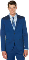 Perry Ellis Very Slim Iridescent Poseidon Twill Suit