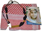 Desert Dress Childs Kids Boys Shemagh Scarf and Igal Set Pack Gift