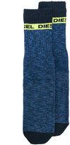 Diesel crew socks - men - Cotton/Nylon/Spandex/Elastane - S