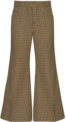 Moncler 2 1952 cropped flared trousers