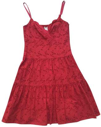 Collette Dinnigan Red Cotton Dress for Women