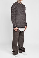 Rick Owens Pullover with Mohair and Merino Wool