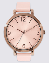 M&S Collection Smooth Round Face Watch