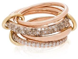 Spinelli Kilcollin 18kt yellow gold Vega diamond ring