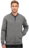 Lacoste L!ve Long Sleeve Double Face Hybrid Bomber Sweatshirt