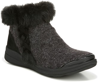 Bzees Fuzzy Faux Fur Booties - Iris