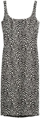 Banana Republic Animal Print Sloan Sheath Dress