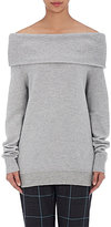 Alexander Wang Women's Off-The-Shoulder Sweater-GREY