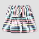 Cat & Jack Girls' Striped Skirt - Cat & Jack Blue