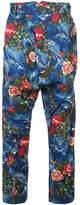Vivienne Westwood floral print trousers
