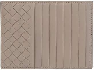 Bottega Veneta Woven Detail Cardholder