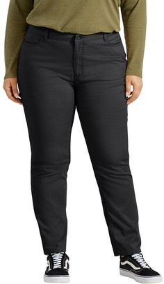 Dickies Plus Size Perfect Shape Skinny Twill Pants