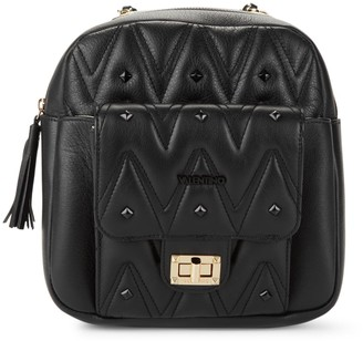 Mario Valentino Valentino By Balzac D Sauvage Studded Convertible Backpack