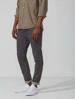 Frank and Oak The Tyler Skinny Stretch Denim in Grey